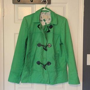 Banana Republic Kelly Green jacket